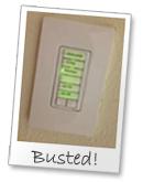 keypad engraving busted