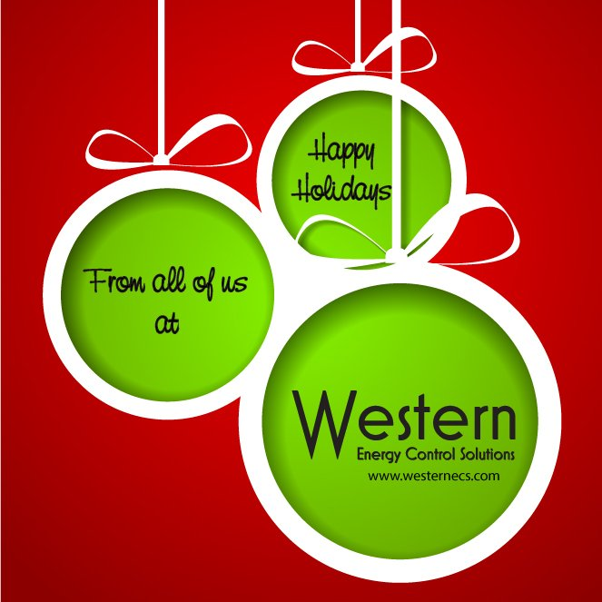 Happy Holidays From Western Energy Control Solutions