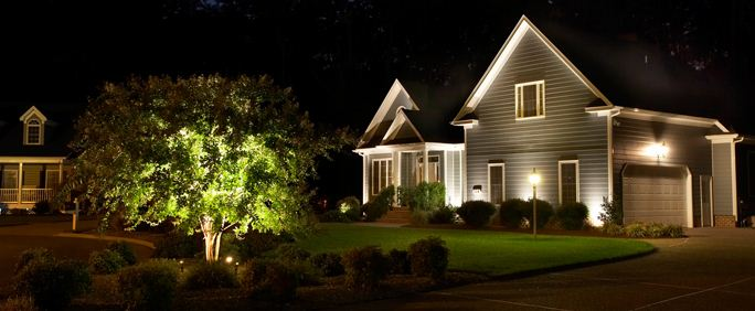 outdoor lighting for residential homes increases safety